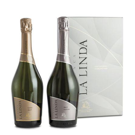 Estuche-LA-LINDA-EXTRA-BRUT---2-X-750-ml---COD-113149--Estuches