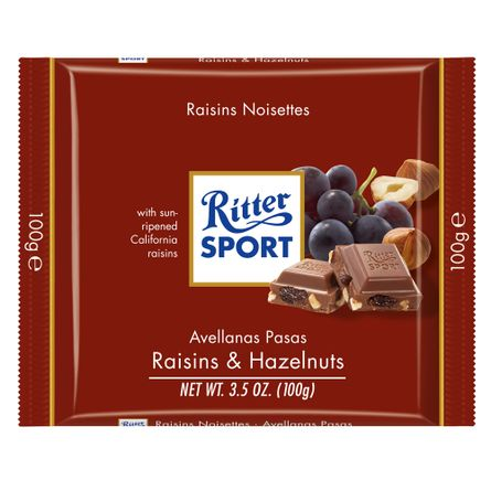 Ritter-Chocolate-Pasas-y-Avellanas-.-Chocolate-.-100-grs---Frontal