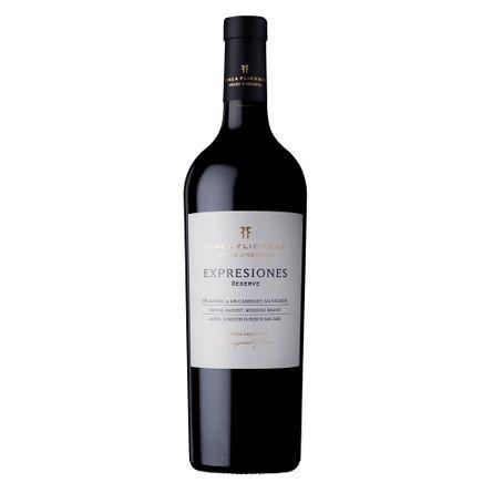 Flichman-Expresiones-Reserva-Malbec---Cabernet-750-ml-Blend-Tinto-Botella