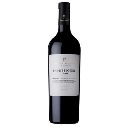 Flichman-Expresiones-Reserva-Sirah---Cabernet-750-ml-Blend-Tinto-Botella