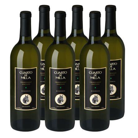 Cuarto-de-Milla-Chardonnay---Semillon-Blend-Blanco-750-ml-Packx6