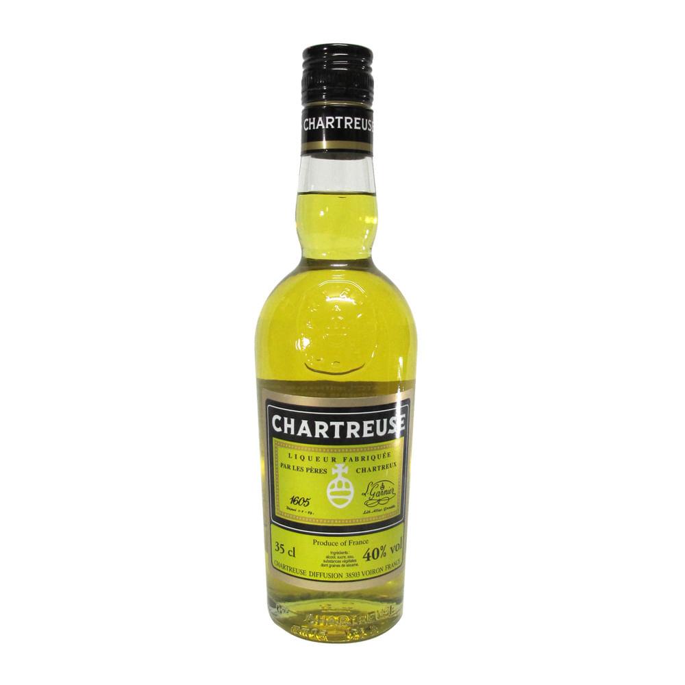 LICOR-CHARTREUSE-JAUNE-AMARILL-.-Licor-de-Hierbas-.-350-ml-Botella