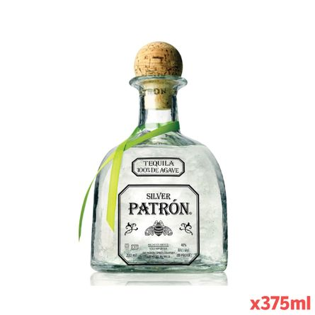 TEQUILA-PATRON-SILVER-375-ml-Botella