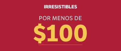 MENOS DE 100