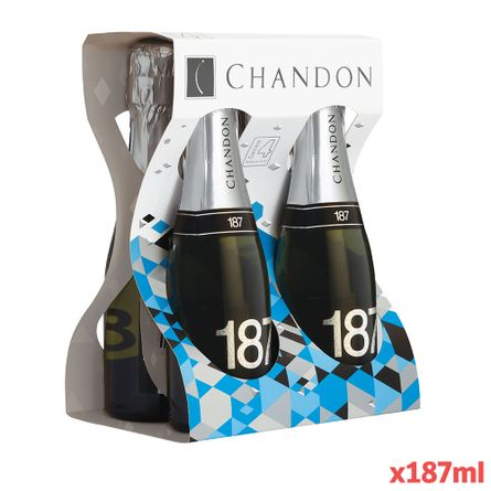 Chandon-Four-Pack-.-Estuche-x-4-Botellas-.-4-x-187-ml-Botella