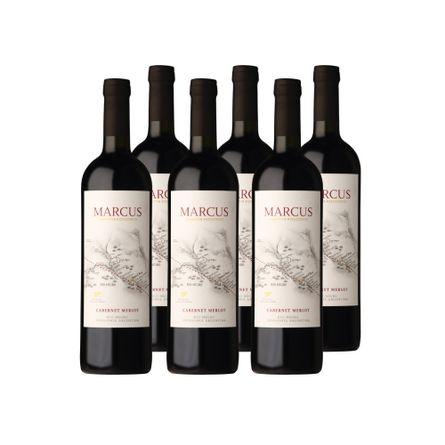 Marcus-Clasico-Cabernetmerlot-.-Corte-.-6-X-750-ml-Botella