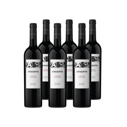 Argento-.-Clasico-Cabernet-.-6-X-750-ml-Botella