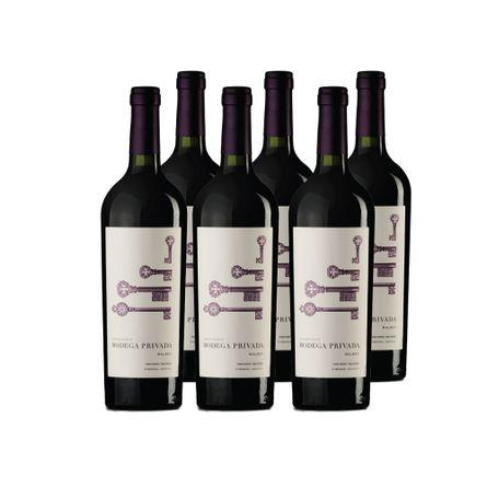 Bodega-Privada-Coleccion-.-Malbec-.-6-X-750-ml-Botella