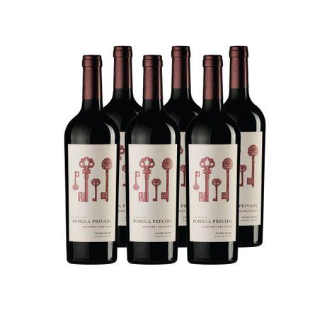 Bodega-Privada-Coleccion-.--Cabernet-Sauvignon-.-6-X-750-ml-.-Botella