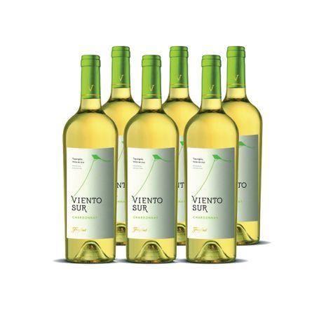 Viento-Sur-.-Chardonnay-.-6-x-750-ml-Botella