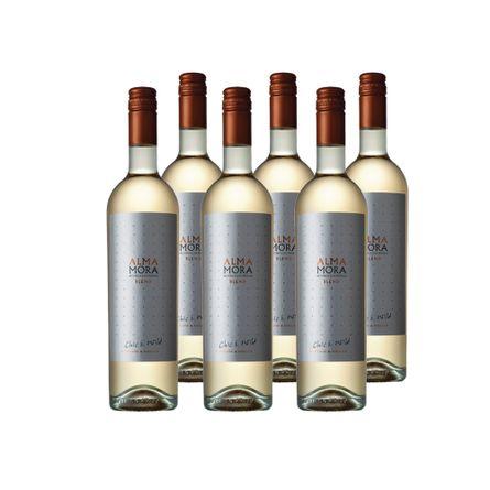 Alma-Mora-.-Blend-Chic---Wild-Blanco-.-6-X-750-ml-Botella