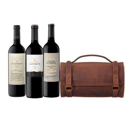 Altimus-Blend---El-Esteco-Fincas-Notables-Cabernet-Sauvignon---El-Esteco-Malbec---Kit-de-viaje-de-REGALO-.-3-x-750