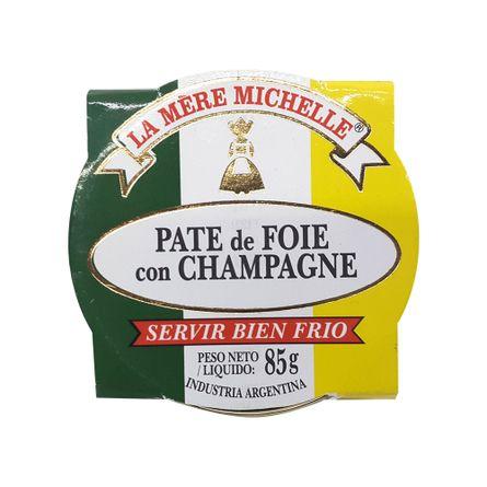 La-Mere-Michelle-Pate-de-Foie-con-Champagne-.-Snack-.-85-grs