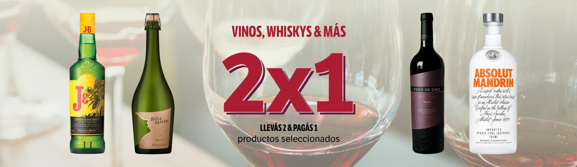 2x1 Vinos y mas