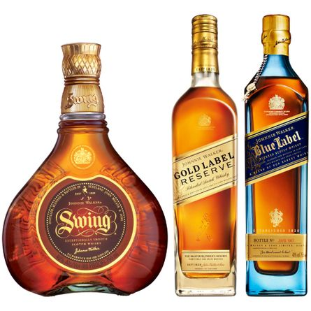 Pack-Johnnie-Walker--Colecciones--2-Johnnie-Walker--Red-Label---Black-Label---Gold-reserve-Producto