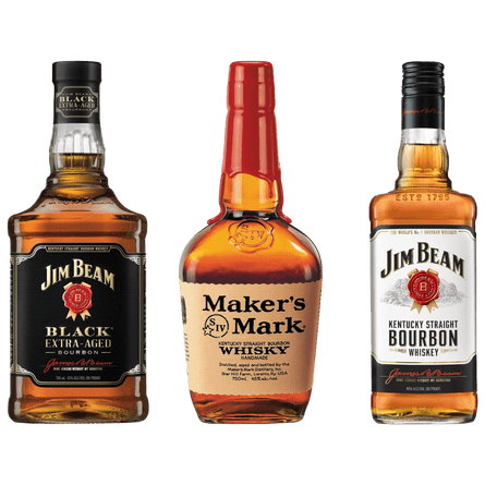 Pack--BourbonFest--Jim-Beam--White---Black-Extra-Aged---Makers-Mark-Producto