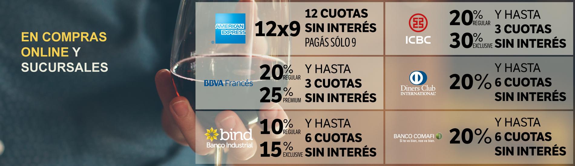 Promo Bancos Dom Lunes