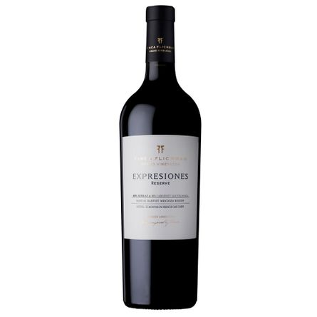 Flichman-Expresiones-Reserva-Sirah---Cabernet-750-ml-Blend-Tinto-Botella