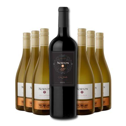 Norton-Reserva-.-Chardonnay-.-750-ml---Norton-Gran-Malbec-2011-Magnum-1500-ml-Promocion