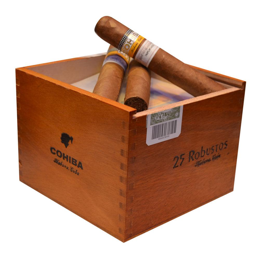 CIGARRO COHIBA ROBUSTOS x 25 Pack | Accesorios Habanos ...