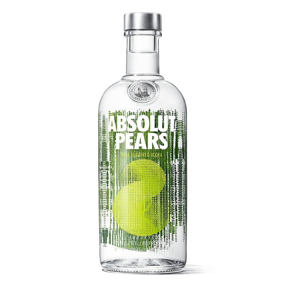 Absolut-Pera-.-Vodka-Saborizado-.-750-ml-Botella