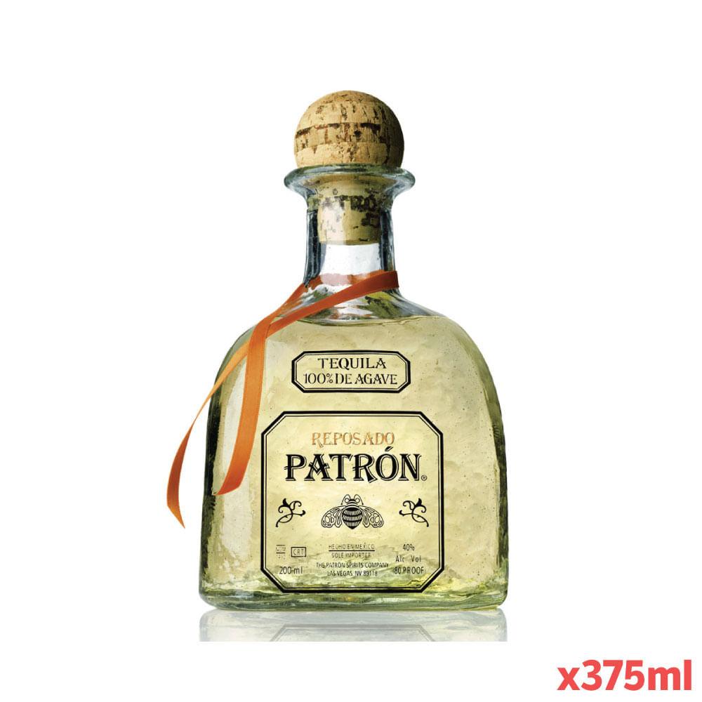 TEQUILA-PATRON-REPOSADO-375-ml-Botella