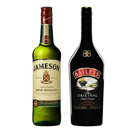 Pack-Whiskys--12.-Baileys-The-Original-750-ml---Jameson-Irish-750-ml-Producto