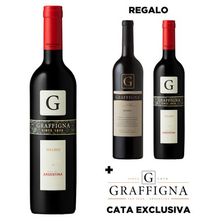 Graffigna-Varietal-Malbec---Regalo-de-Graffigna-Gran-Reserva-Malbec-y-Graffigna-Varietal-Malbec---Plus-de-Cata-Exclusiva