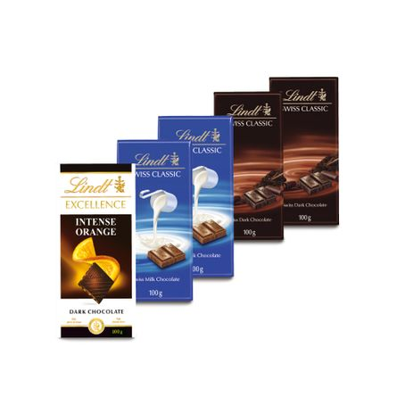Pack-Chocolates-Lindt.-5-Unidades.-X