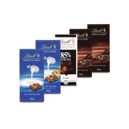 Pack-Chocolates-Lindt.-5-Unidades.-XII